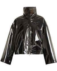 Valentino - Translucent Zip Through Jacket - Lyst