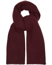 Denis Colomb - Frayed Cashmere Scarf - Lyst