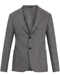 Giorgio Armani   Single-breasted Wool Blazer   Lyst