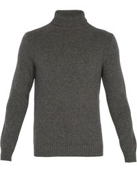 A.P.C. - Cidre Roll-neck Sweater - Lyst