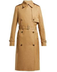 Paco Rabanne - Double-breasted Cotton-twill Trench Coat - Lyst