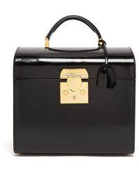 Mark Cross - Sara Leather Beauty Case - Lyst