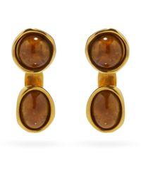 Loewe Double Tree Drop Earrings - Multicolor