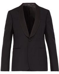 Alexander McQueen Shawl Lapel Tuxedo Jacket - Black