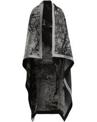 Mary McCartney - Horse Print Wool And Silk Blend Blanket Scarf - Lyst