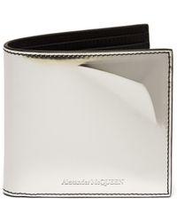 Alexander McQueen - Mirrored Star Leather Billfold Wallet - Lyst