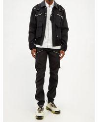 Givenchy レイヤードエフェクト レップパンツ - ブラック