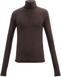 Bottega Veneta - Jersey Roll-neck Sweater - Lyst