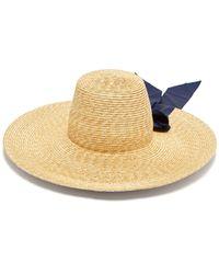 Lola Hats Chapeau en raphia Incognito - Multicolore