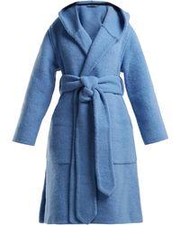 Burberry - Dunbridge Alpaca And Wool Blend Coat - Lyst