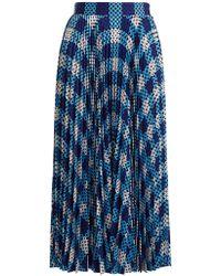 Mary Katrantzou | Uni Pleated Skirt | Lyst