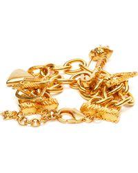Versace Tribute Metal Charm Bracelet - Multicolour