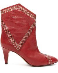 Givenchy Bottes western en cuir Danta - Multicolore