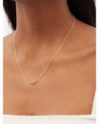 Lizzie Mandler August Birthstone Peridot & 18kt Gold Necklace - Metallic