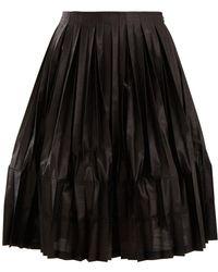 Junya Watanabe - Pleated A-line Skirt - Lyst