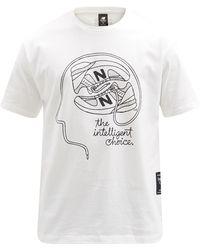 New Balance デロレンツォ ロゴ コットンtシャツ - マルチカラー