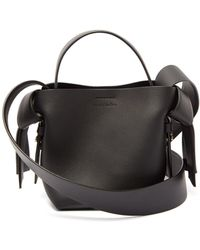 Acne Studios Musubi Micro Leather Cross-body Bag - Black