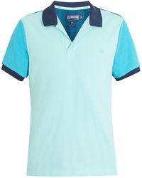 Vilebrequin - Logo-embroidered Contrast Cotton-piqué Polo Shirt - Lyst