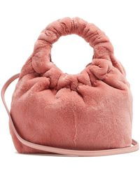 The Row - Circle-handle Mink Bag - Lyst