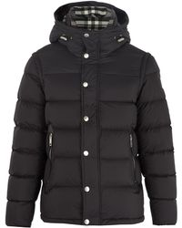 Burberry | Quilted Down Coat | Lyst