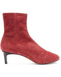 Isabel Marant - Daevel Suede Ankle Boots - Lyst