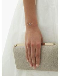 Anissa Kermiche エイプリル ダイヤモンド&クォーツ ゴールドブレスレット - メタリック