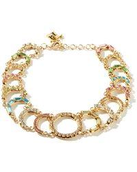 Rosantica Collier ras de cou à ornements cristaux Brio - Métallisé