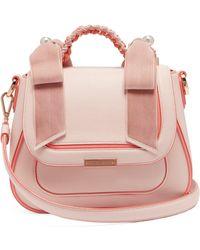 Sophia Webster - Edge Dye Shoulder Bag Sunkissed Pink - Lyst
