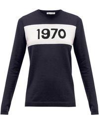 Bella Freud 1970 カシミア セーター - ブルー