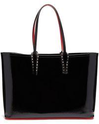 Christian Louboutin Cabata Small Leather Tote - Black