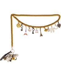 Balenciaga - Charm Chain Belt - Lyst