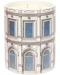 Fornasetti Bougie parfumée senteur Otto Palazzo Celeste - Multicolore