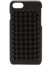 Christian Louboutin - Loubiphone Spike Leather Iphone® 7/8 Case - Lyst