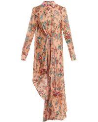 Anjuna - Amanda Floral Print Cotton Dress - Lyst
