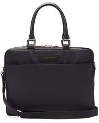 Want Les Essentiels De La Vie - Haneda Leather-trimmed Nylon Briefcase - Lyst