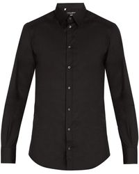 Dolce & Gabbana - Johnny Cotton Blend Shirt - Lyst