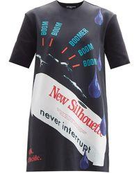 Raf Simons Ss14 スキューバロングラインtシャツ - マルチカラー