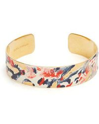 Isabel Marant - Impressionist Resin-coated Cuff - Lyst