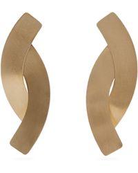 Fay Andrada - Naru Curved Drop Earrings - Lyst