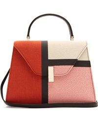 Valextra - Iside Medium Colour Block Bag - Lyst