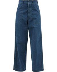 Chimala High-rise Wide-leg Jeans - Blue