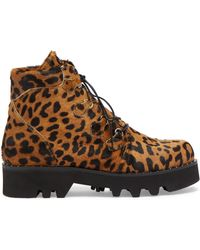 Tabitha Simmons - Neir Leopard-print Ankle Boots - Lyst