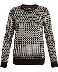Perfect Moment | Frequency Zigzag-intarsia Wool Jumper | Lyst