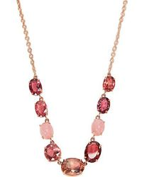 Irene Neuwirth - Opal, Tourmaline & Rose-gold Necklace - Lyst