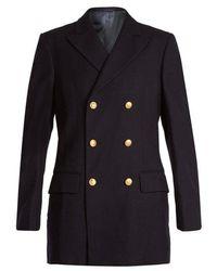 MYAR - 1950s Italian Navy Wool Uniform Jacket - Lyst
