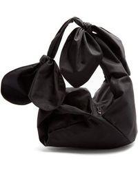 Simone Rocha - Bow-tied Faille Shoulder Bag - Lyst