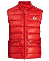 Moncler - Gui Stand-collar Quilted-down Gilet - Lyst