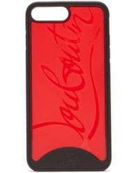 Christian Louboutin Loubiphone Sneakers Iphone 7plus&8plus ケース - レッド