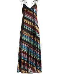 Athena Procopiou Dancing Rainbow スパンコール ドレス - マルチカラー
