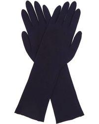 FALKE Light Running Gloves - Blue